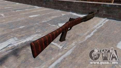 Ружье Benelli M3 Super 90 arte de la guerra para GTA 4 segundos de pantalla