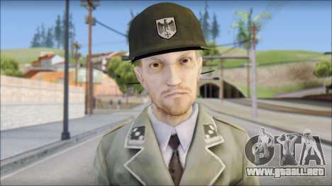 Wehrmacht soldier para GTA San Andreas tercera pantalla