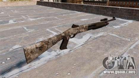 Ружье Benelli M3 Super 90 ghotex para GTA 4 segundos de pantalla