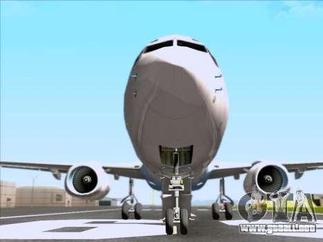 Boeing 737-800 Qantas para la vista superior GTA San Andreas