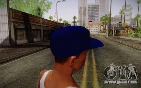 Penshoppe Cap para GTA San Andreas segunda pantalla