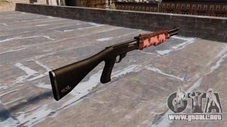 Ружье Franchi SPAS-12 de tigre Rojo para GTA 4 segundos de pantalla