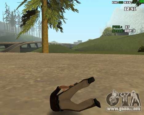 Standing Somersault para GTA San Andreas segunda pantalla