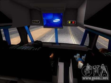 Metalsur Starbus DP 1 6x2 - La Veloz del Norte para GTA San Andreas interior