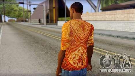 Batik Solo T-Shirt para GTA San Andreas segunda pantalla