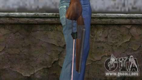 Sangrar con mira láser para GTA San Andreas tercera pantalla