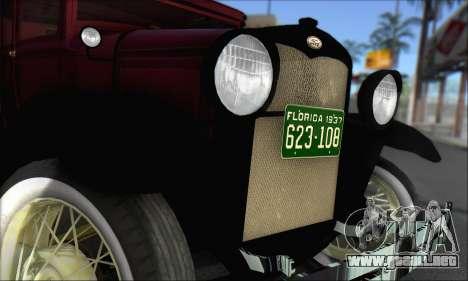 Ford A 1930 para la visión correcta GTA San Andreas