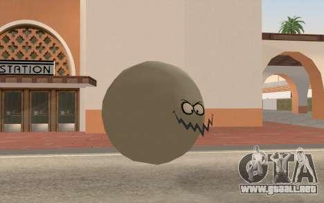 Sucio Pazyryk (bob esponja) para GTA San Andreas segunda pantalla