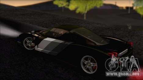 Ferrari Enzo 2002 para GTA San Andreas interior