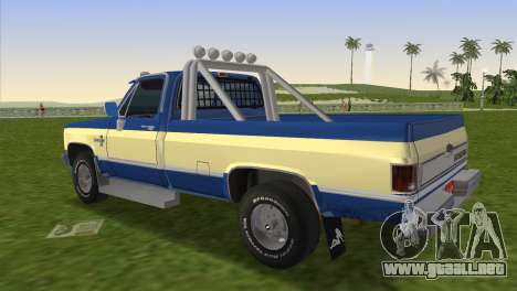 Chevrolet Silverado K-10 2500 1986 para GTA Vice City left