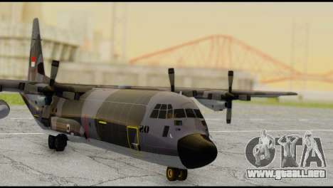 C-130 Hercules Indonesia Air Force para GTA San Andreas