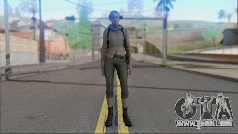 Sherry Birkin Asia from Resident Evil 6 para GTA San Andreas