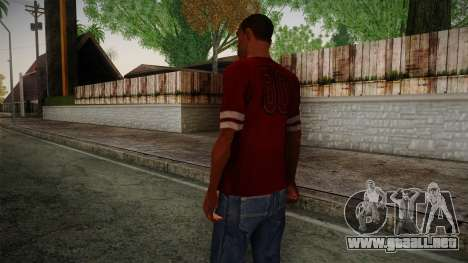 Kehed T-Shirt para GTA San Andreas segunda pantalla