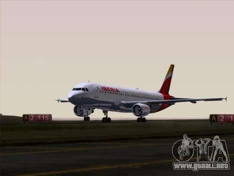 Airbus A320-214 Iberia para el motor de GTA San Andreas