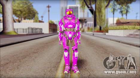 Masterchief Purple from Halo para GTA San Andreas