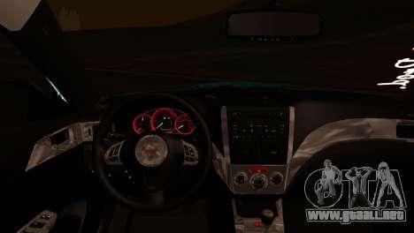Subaru Impreza Stance Works para la visión correcta GTA San Andreas