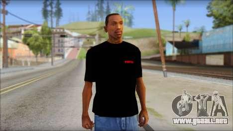 Running With Scissors T-Shirt para GTA San Andreas