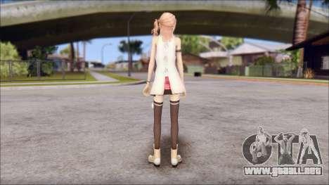 Final Fantasy XIII - Lightning Casual para GTA San Andreas segunda pantalla