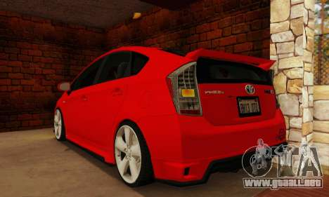 Toyota Prius Tunable para GTA San Andreas left