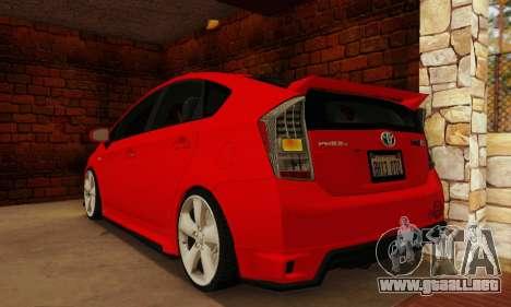 Toyota Prius Tunable para GTA San Andreas left