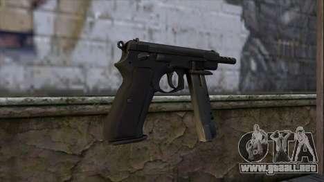 CZ75 from CS:GO v2 para GTA San Andreas segunda pantalla