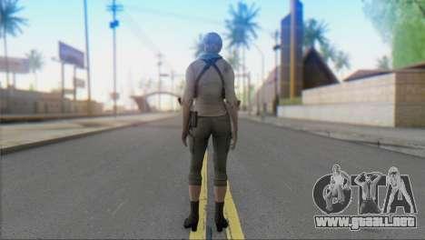 Sherry Birkin Asia from Resident Evil 6 para GTA San Andreas segunda pantalla