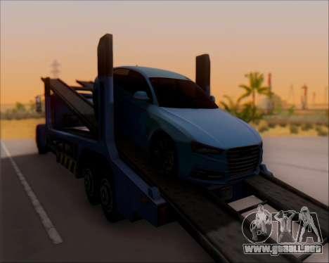 Audi A7 para GTA San Andreas left
