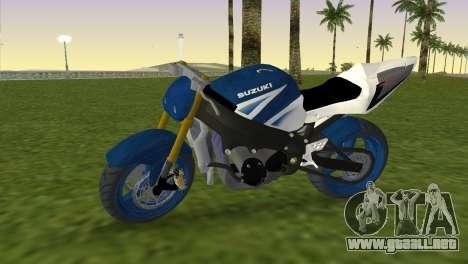 Suzuki GSX-R 1000 StreetFighter para GTA Vice City