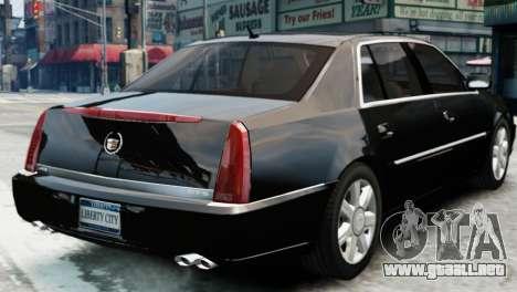 Cadillac DTS 2006 v1.0 para GTA 4 left