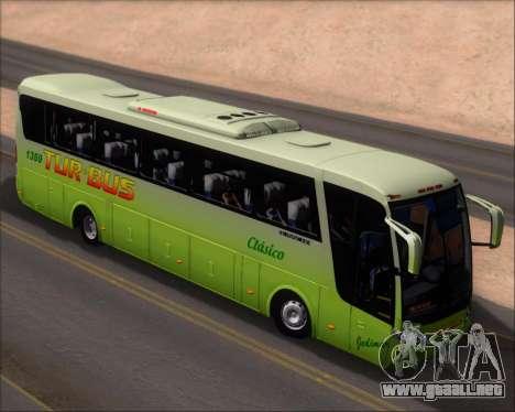 Busscar Vissta LO Scania K310 - Tur Bus para GTA San Andreas vista hacia atrás
