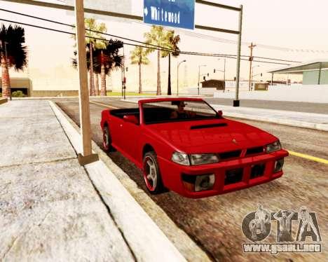 El Sultán Convertible para GTA San Andreas