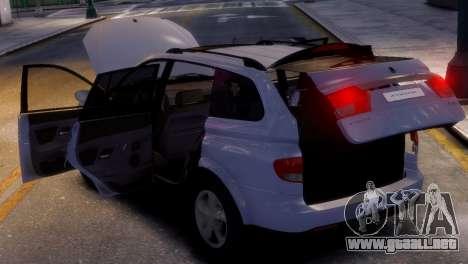 SsangYong Kyron para GTA 4 visión correcta