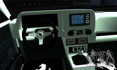 Tofas Sahin 06 HLR 53 para GTA San Andreas vista posterior izquierda