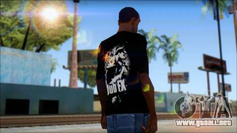 Dub Fx Fan T-Shirt v1 para GTA San Andreas segunda pantalla