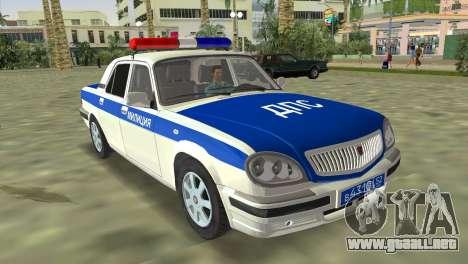 GAZ 31105 Volga DPS para GTA Vice City