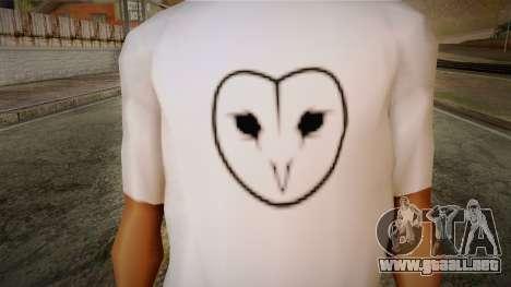 Dreambirds T-Shirt para GTA San Andreas tercera pantalla