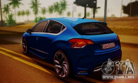 Citroen DS4 2012 para GTA San Andreas left