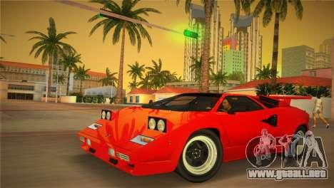 Lamborghini Countach LP5000 QV TT Custom para GTA Vice City
