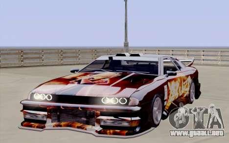 Trabajos de pintura para Yakuza Elegía para la visión correcta GTA San Andreas