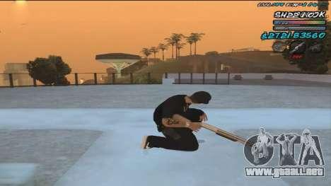 C-HUD by ShnoorOK para GTA San Andreas segunda pantalla
