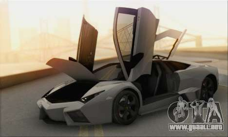 Lamborghini Reventon para la visión correcta GTA San Andreas