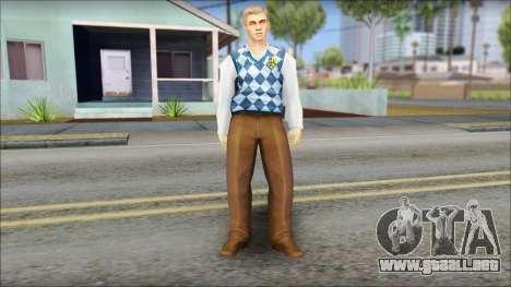 Derby from Bully Scholarship Edition para GTA San Andreas segunda pantalla