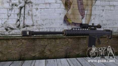 Heavy Sniper from GTA 5 v2 para GTA San Andreas