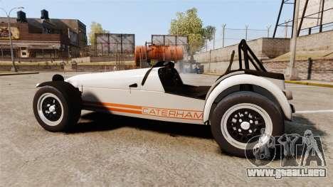 Caterham Seven 620 R para GTA 4 left