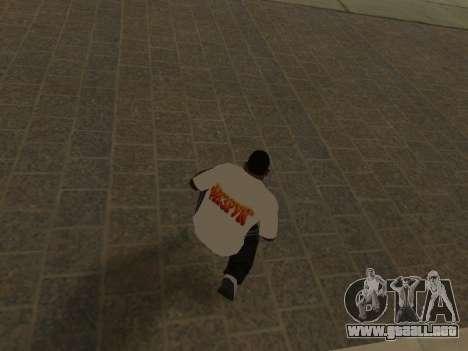 T-Shirt Maestro para GTA San Andreas sucesivamente de pantalla