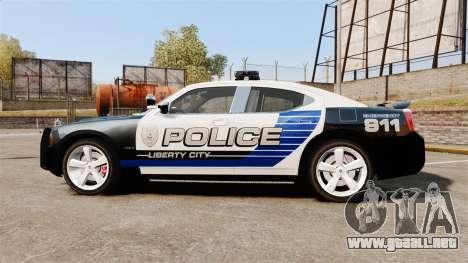 Dodge Charger SRT8 2010 [ELS] para GTA 4 left