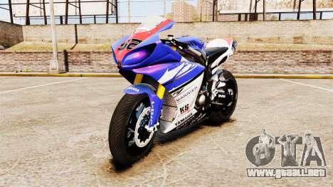 Yamaha YZF-R1 PJ1 para GTA 4