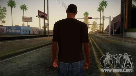 DC Shoes USA T-Shirt para GTA San Andreas segunda pantalla