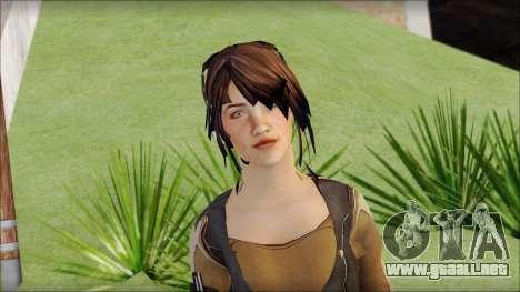 Rebecca para GTA San Andreas tercera pantalla
