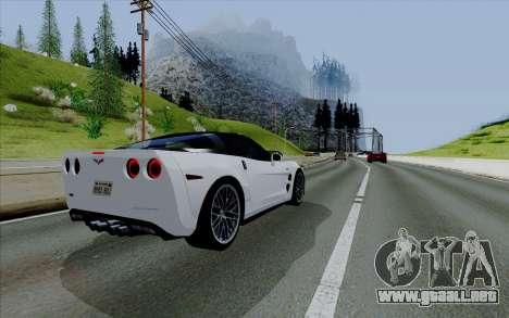 ENBSeries para PC débil v3 [SA:MP] para GTA San Andreas quinta pantalla